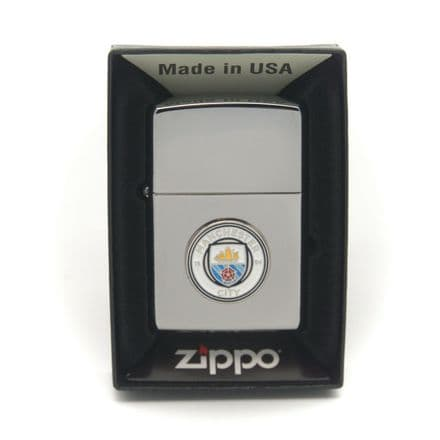 Manchester City Zippo Lighter Personalised