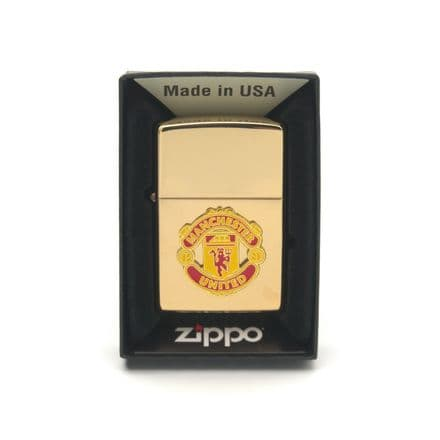 Manchester United FC Zippo Lighter Personalised