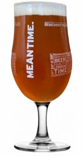 Meantime Pint Glass  Personalised