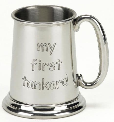 My First ¼ Pint Tankard Personalised