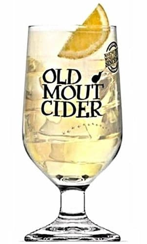 Old Mout Cider, 1 Pint Glass Personalised