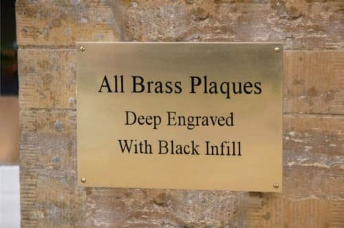 Plaques and Signs