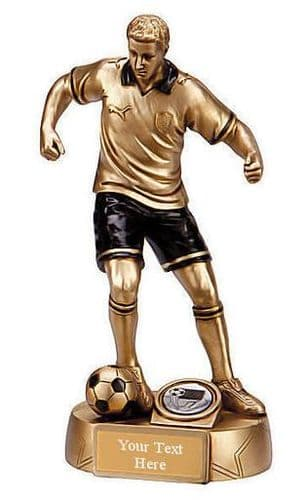 Resin Gold Puma Colossus Football Trophy