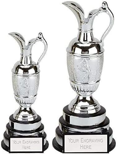Resin Silver Claret Jug Personalised