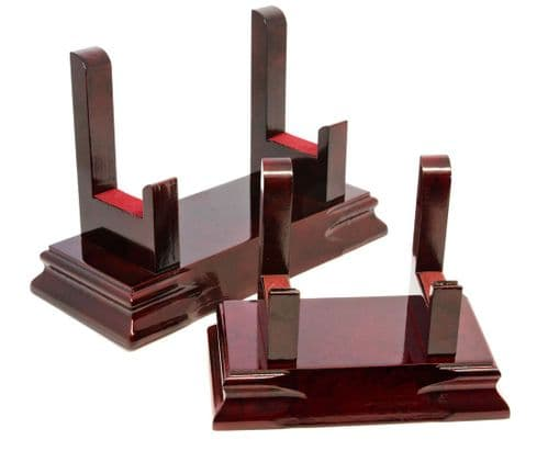 Rosewood Plate/Salver Display Stand