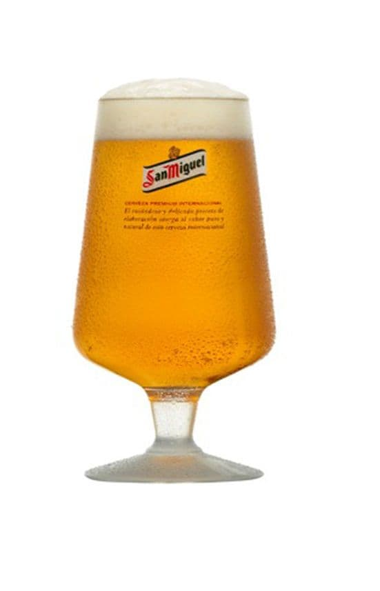 San Miguel Pint Chalice Personalised  | County Engraving