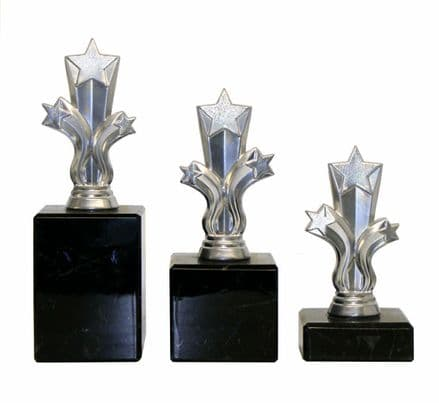 Silver Micro Shooting Star Trophy