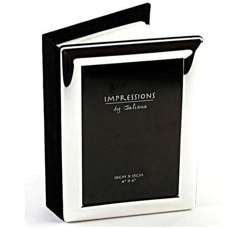 Silver Plated Photo Album Personalised