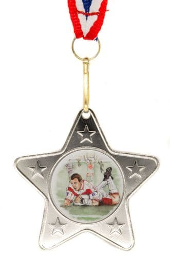 Silver Star Medal with Choice of Sport Centre