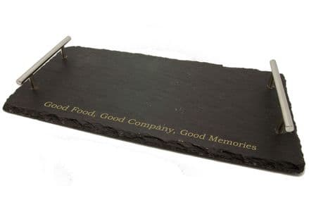 Slate Serving Tray Personalised