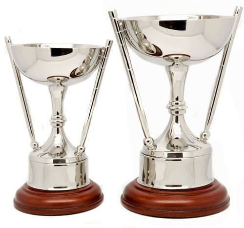 Solid Brass Nickel Plated Snooker or Pool Cup