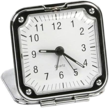 Square Travel Alarm Clock Personalised