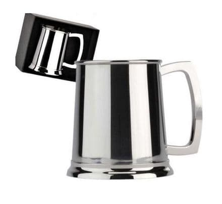 Stainless Steel Tankard Personalised