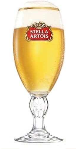Stella Artois Beer Glass/Chalice Personalised For Christmas
