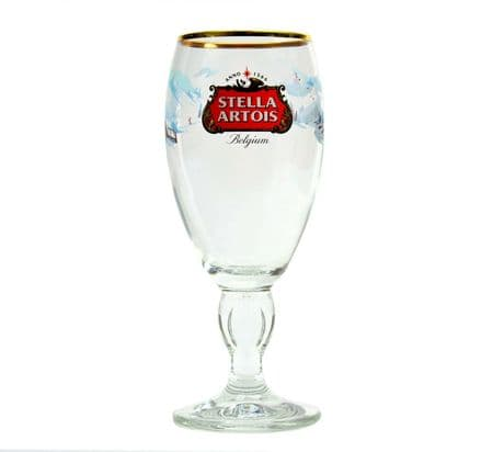 Stella Chalice Limited Edition Xmas Glass Personalised