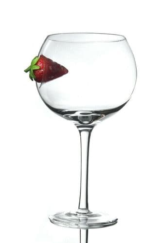 Strawberry Large Balloon Copa Gin Glass Personalised