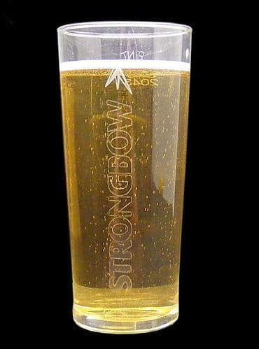 Strongbow 1 Pint Glass Personalised