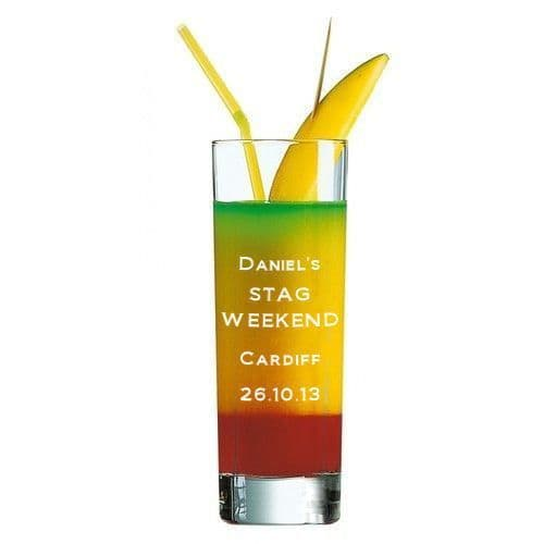Tall Shot Cup Personalised