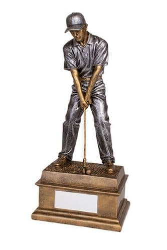"""The """"Classic"""" Male Golf Trophy Personalised"""