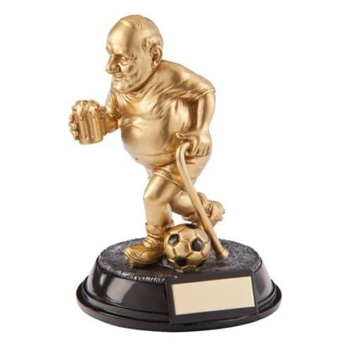 The Outrageous Beer Bellies Football Player 'The Old Git' Award
