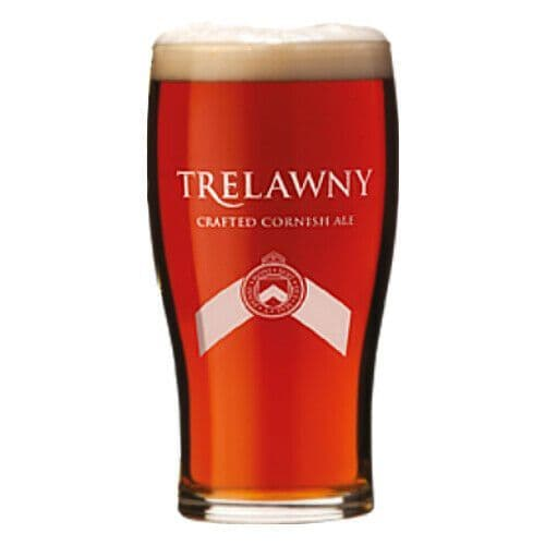 Trelawny Cornish Ale Glass Personalised | County Engraving