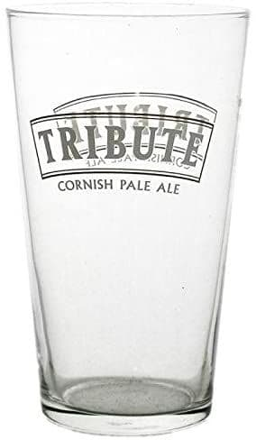 Tribute One Pint Ale Glass Personalised