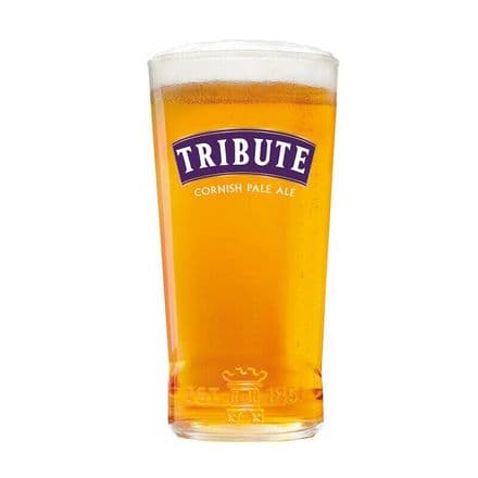Tribute One Pint Pale Ale Glass Personalised