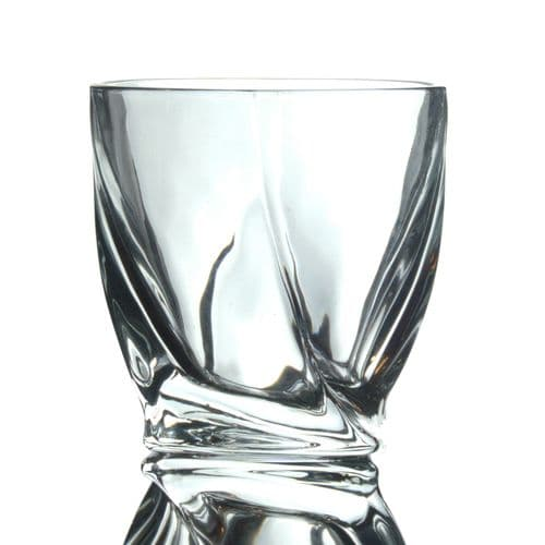 Twisted Whisky Glass Personalised