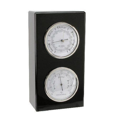 Wall or Desk Mounted Barometer and Thermometer Set Personalised