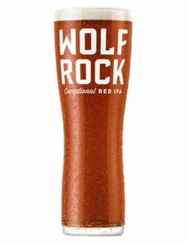 Wolf Rock IPA One Pint Glass Personalised