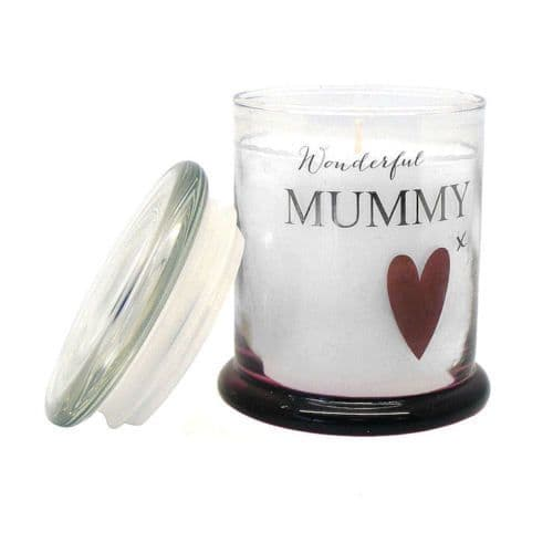 Wonderful Mummy Scented Candle in a Jar Personalised