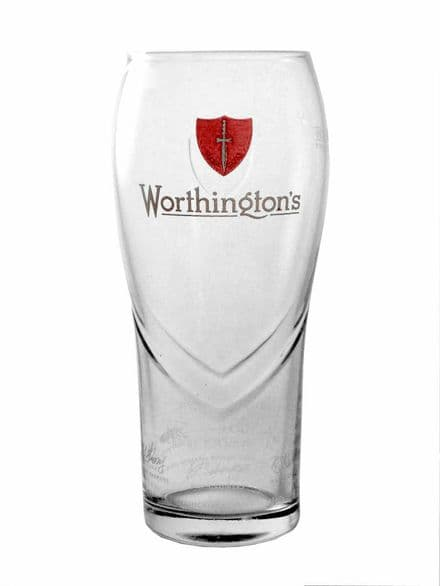 Worthington's Bitter Pint Glass Personalised