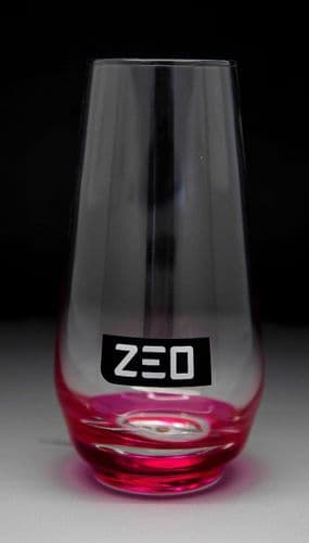 ZEO Natural Soft Drink Glass Personalised