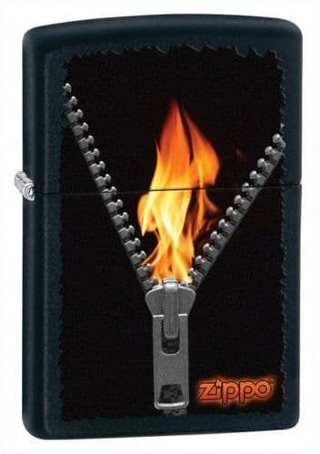 Zip and Fire Zippo Lighter Personalised