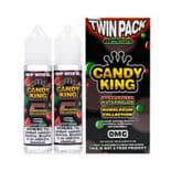Candy King Strawberry & Watermelon Bubblegum E-liquid Twin Pack 2 x 60ml Shortfill