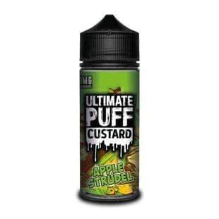 Ultimate Puff  Custard - Apple Strudel E-liquid 120ML Shortfill £15.95 + FREE Nic Shots