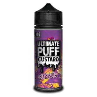 Ultimate Puff Custard - Purple Custard E-liquid 120ML Shortfill £15.95 + FREE Nic Shots