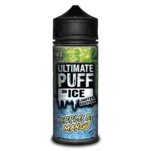 Ultimate Puff  On Ice - Apple Mango E-liquid 120ML Shortfill £15.95 + FREE Nic Shots