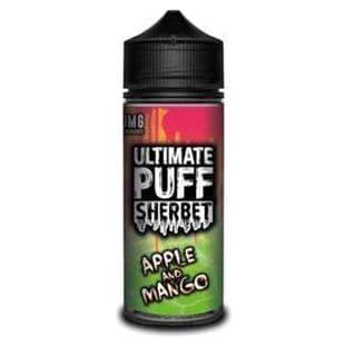 Ultimate Puff Sherbet - Apple Mango E-liquid 120ML Shortfill £15.95 + Free Nic Shots