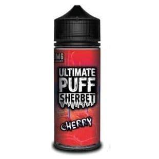 Ultimate Puff  Sherbet - Cherry E-liquid 120ML Shortfill £15.95 + FREE Nic Shots