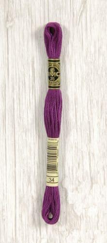 34 - DMC Stranded Cotton thread