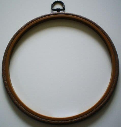"4"" Woodgrain Flexi Hoop/Frame"