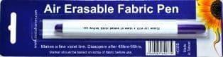 Air Erasable Fabric Pen