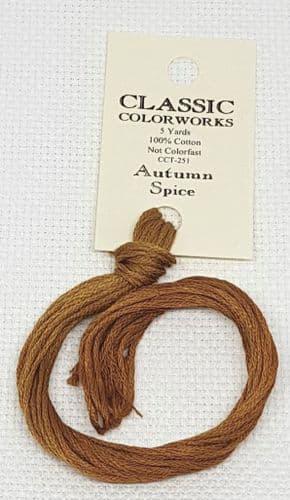 Autumn Spice Classic Colorworks CCT-251