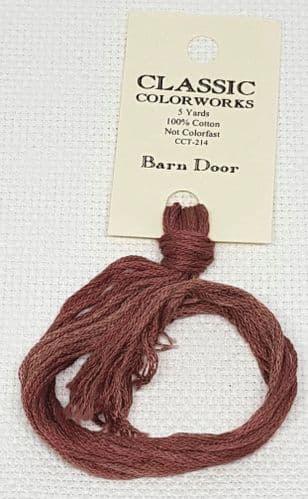 Barn Door Classic Colorworks CCT-214