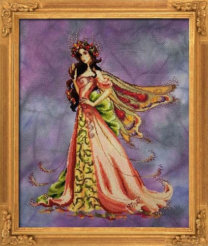 Bella Filipina The Queen Flower Fairy printed cross stitch chart