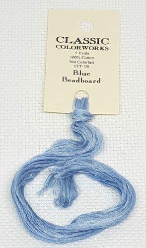 Blue Beadboard  Classic Colorworks CCT-120