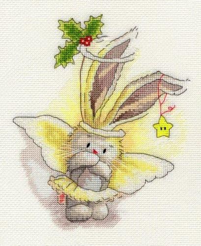 Bothy Threads Angel - Bebunni cross stitch kit