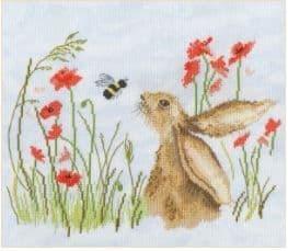 Bothy Threads Bee Lovely cross stitch kit