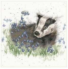 Bothy Threads Bluebell Wood - Hannah Dale cross stitch kit